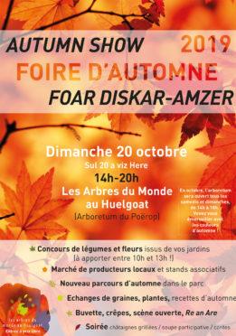 Foire d'Automne | Autumn Show | Foar Diskar-Amzer